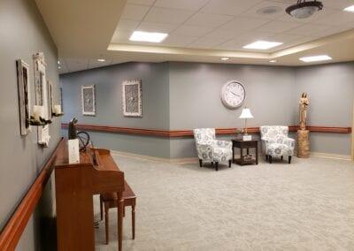 Providence Health Care Hallway
