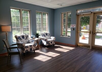 Long-Term Care Visiting Area