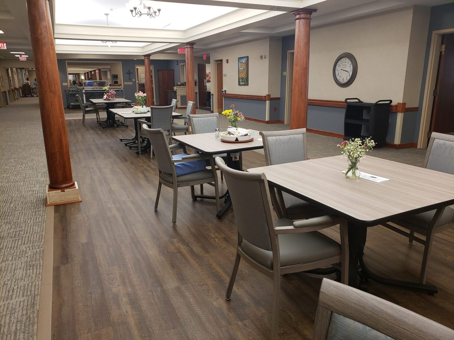 Providence Long-Term Care Dining Area