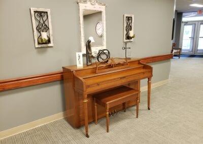 Rehab Hallway Piano