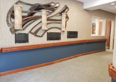 Providence Health Care Administrative Hallway