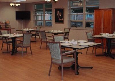 Short-term Rehab Dining Room