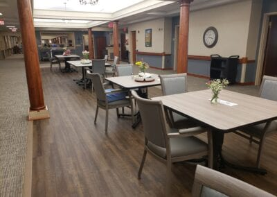 Long-Term Care Dining Room