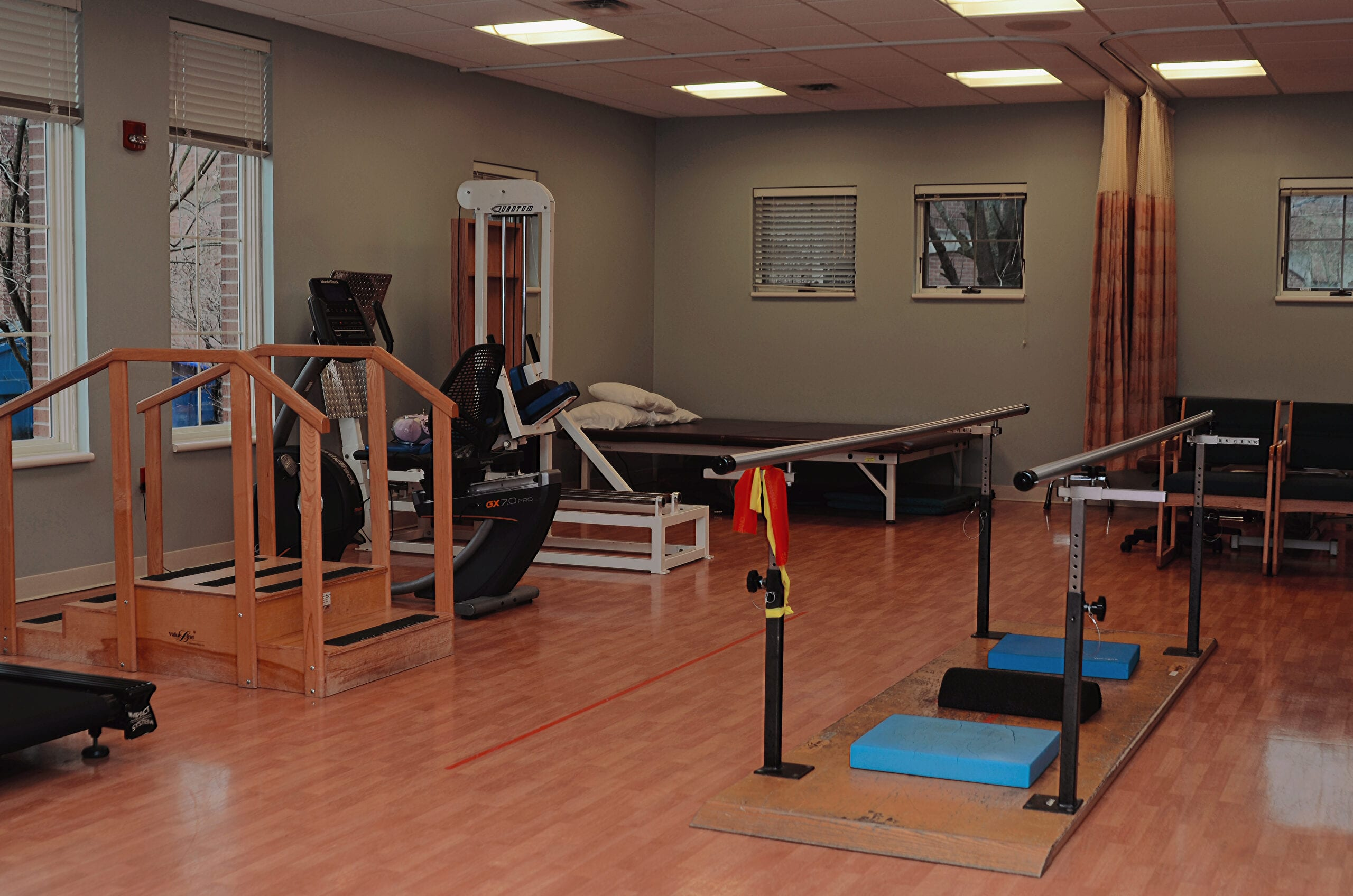 Inpatient and Outpatient Physical Therapy Gym